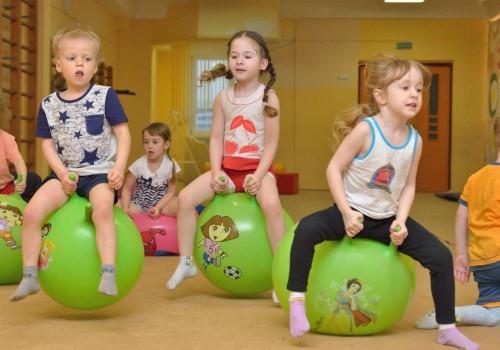 Детский фитнес как средство оздоровления>