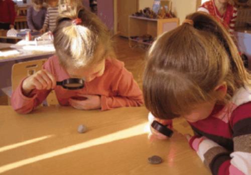 Первые шаги дошкольников в мир экспериментирования>