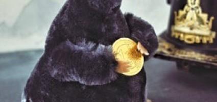 Мышь с монетой