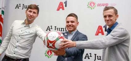 Компания А1 и детский футбольный клуб «Юниор» начали совместное сотрудничество