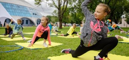 Первый день Марафона здорового образа жизни #САД посетили более 300 минчан