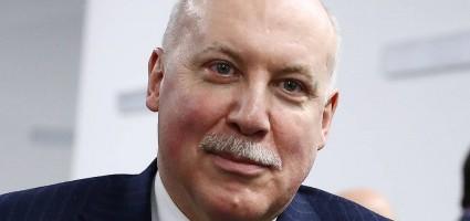 Чрезвычайный и Полномочный Посол Российской Федерации в Республике Беларусь Дмитрий Мезенцев: Россия безвозмездно передает Беларуси 10 тысяч тестов на коронавирус