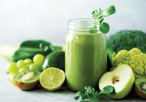 О пользе зелёных овощей и фруктов>