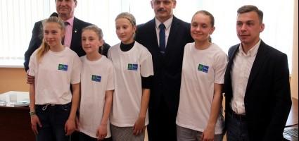 Беларусь приняла участие во Всемирном уроке Футбола и дружбы