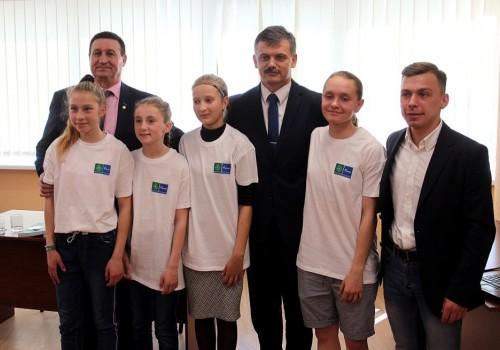 Беларусь приняла участие во Всемирном уроке Футбола и дружбы>