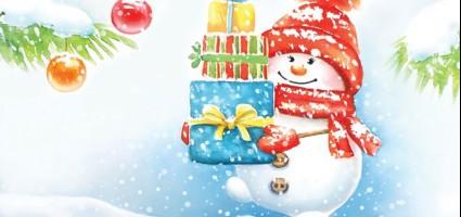 Снеговичок Граф в гостях
