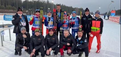 Женская сборная Беларуси заняла второе место в эстафете на этапе Кубка мира по биатлону